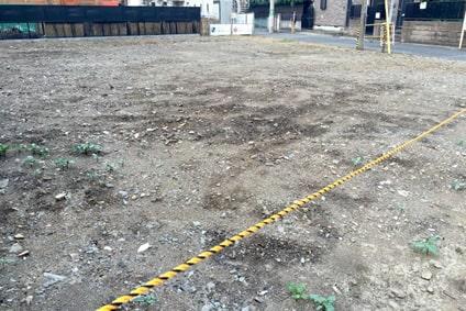 地盤調査・建物着工