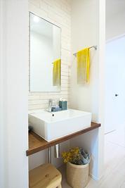 玄関近くで手を洗い、そのまますぐに浴室へ